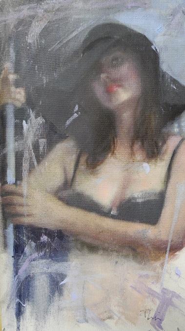 2015 - Ritratto - olio su tela cm. 21x37